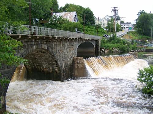 bridge mill river newhampshire hillsboro hillsborough contoocookriver nationalregister nationalregisterofhistoricplaces hillsboroughcounty us202 contoocookmill