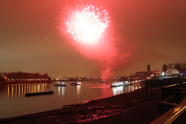 Royal Greenwich - Greenwich Fireworks