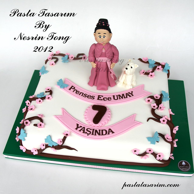 PRINCES ECE UMAY BIRTHDAY CAKE