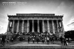 Lincoln Memorial [BW HDR]
