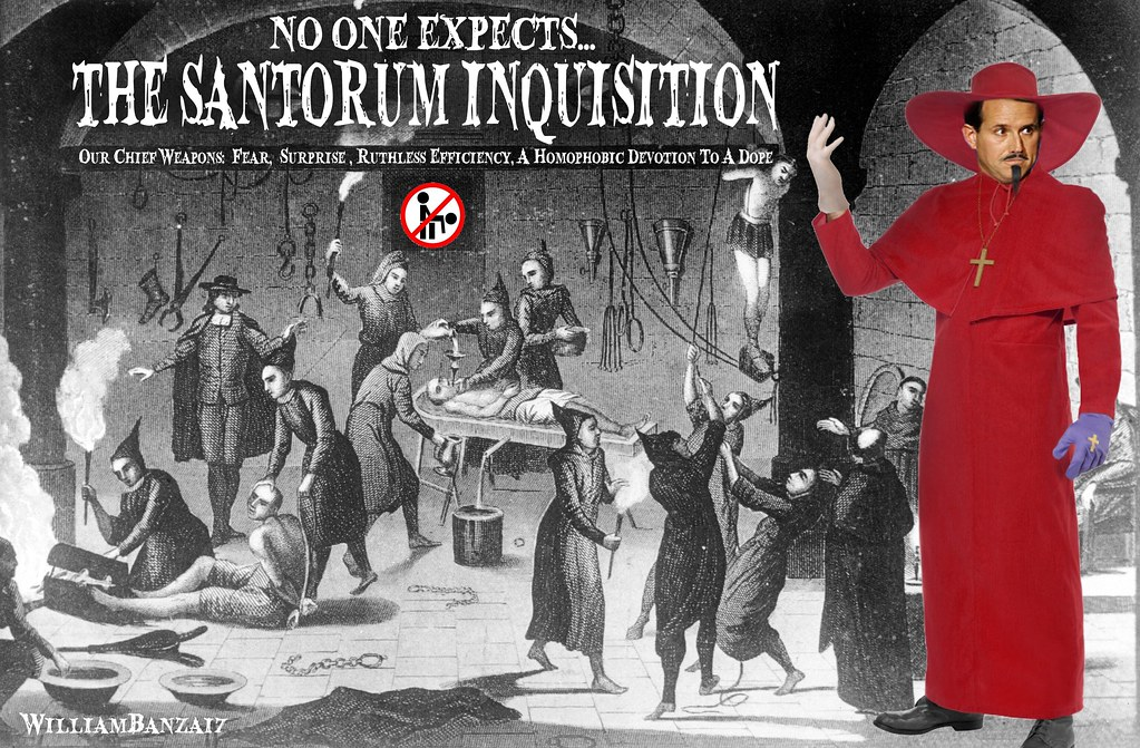 THE SANTORUM INQUISITION