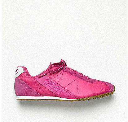 pink coach sneakers 2