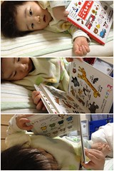 寝る前の読書、学研「こどもずかん」(2012/2/10)
