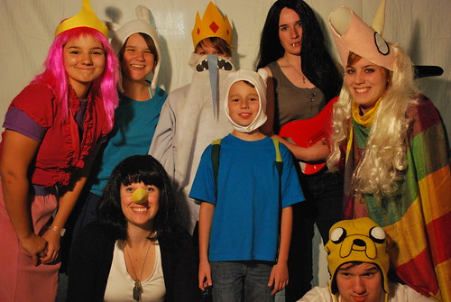 a very adventure time halloween