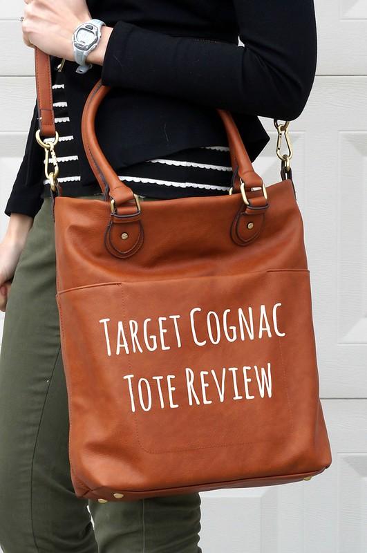 Target Merona tote bag review