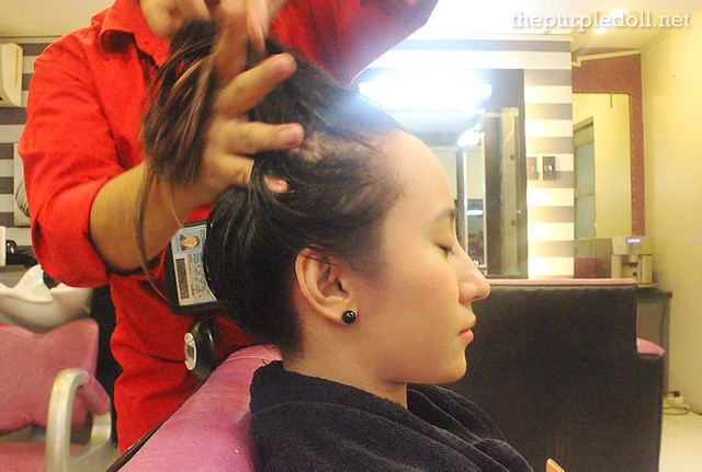 Keratherapy Smoothening Treatment at Louis Phillip Kee Premier Salon