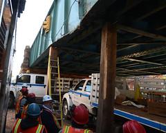 Repairing Damage Along 1 Line
