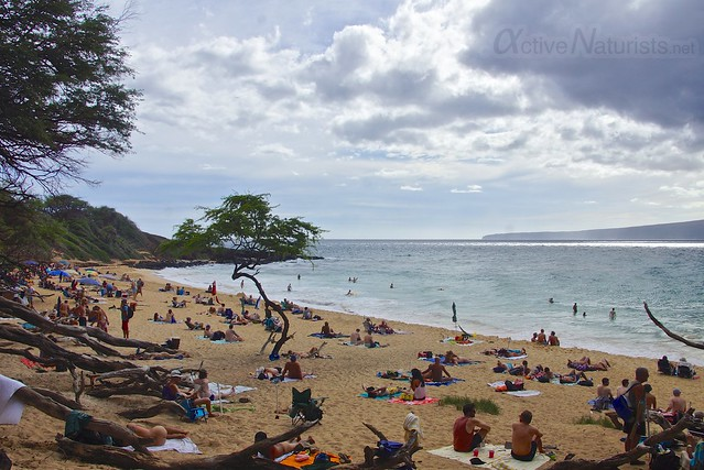 naturist 0000 Little Beach, Maui, Hawaii, USA