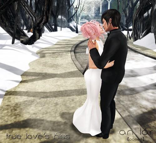 an lar [poses] True Love's Kiss