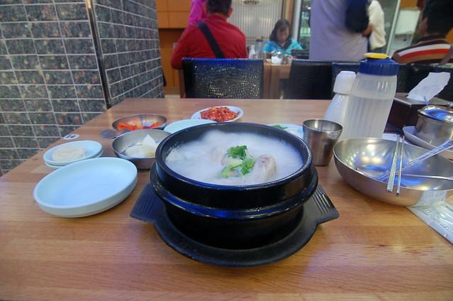 釜山南浦洞 南浦蔘雞湯