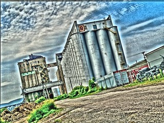 Riverside Grain - over HDR'ed