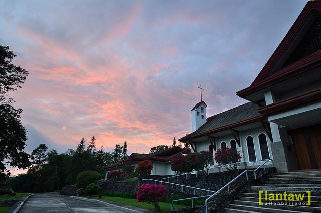 Trappistine Monastery: Twilight