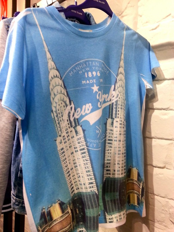 River Island 'New York' T-shirt