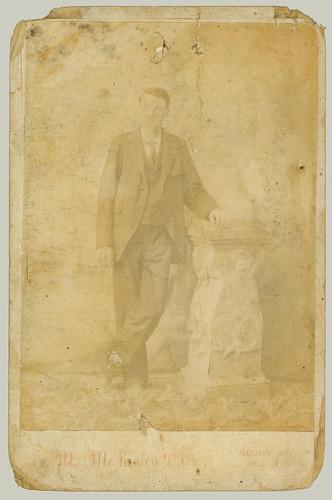 Cabinet Card man.