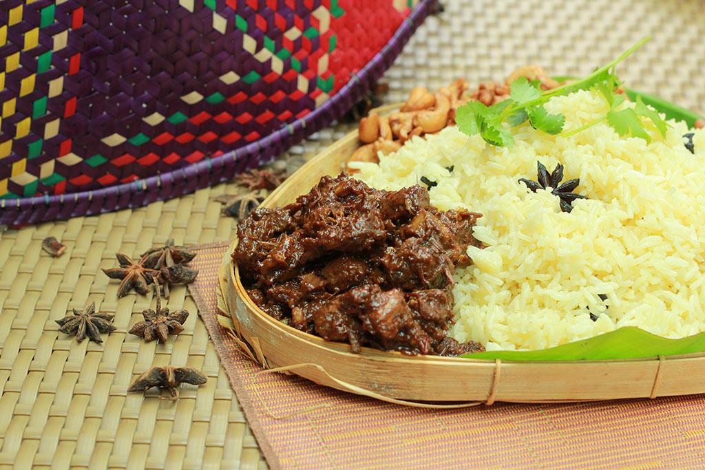 ramadan 2016 intercontinental kl Nasi minyak rendang tok