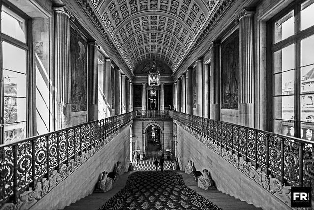 French Senate Staircase