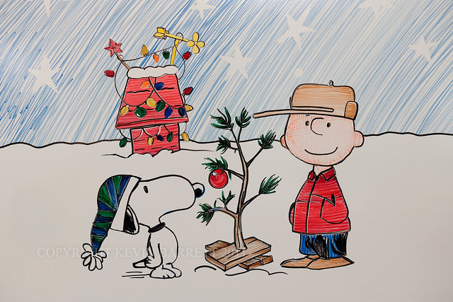 Charlie Brown Christmas in Dry-Erase Marker