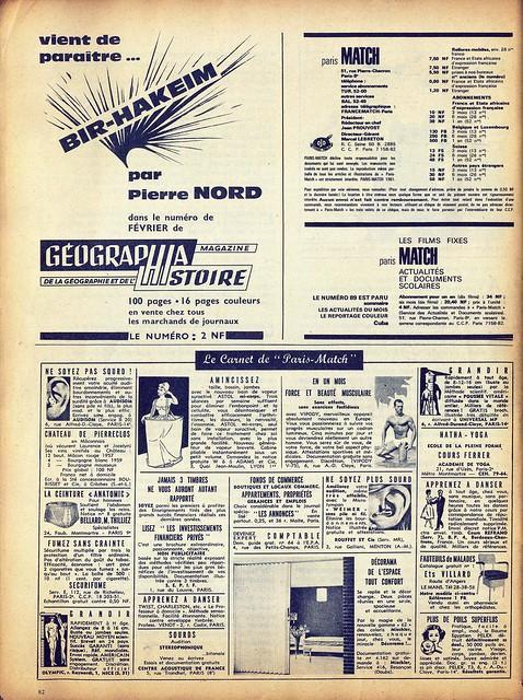 Paris Match, Nº 668, 27 Janvier, 1962 - 61
