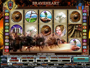 Braveheart bonus game