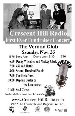 Crescent Hill Radio Fundraiser