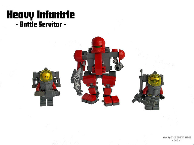Heavy Inf. and Servitor