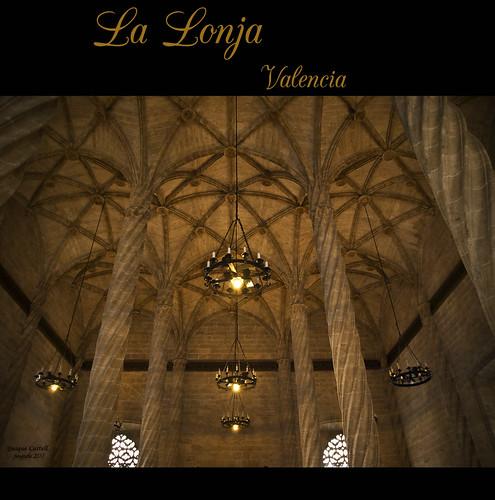 La Lonja de Valencia. by Quique Castell