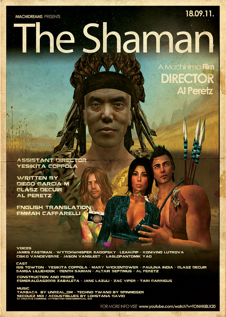 POSTER-THE-SHAMAN