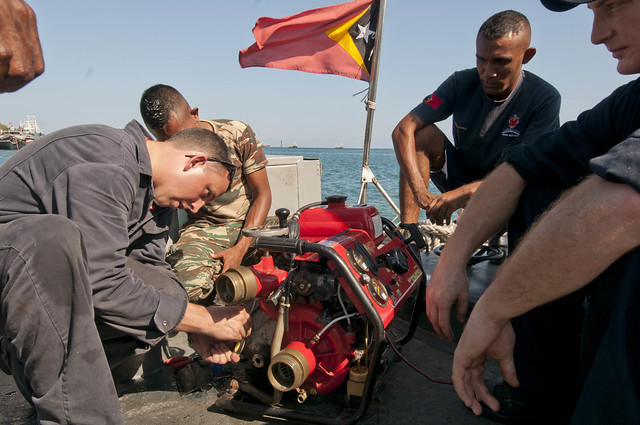 Stethem Crew Conduct Training in Dili