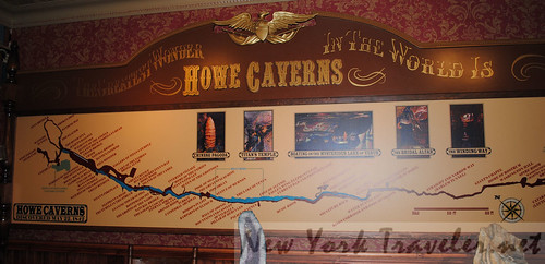 4 Howe Caverns Map