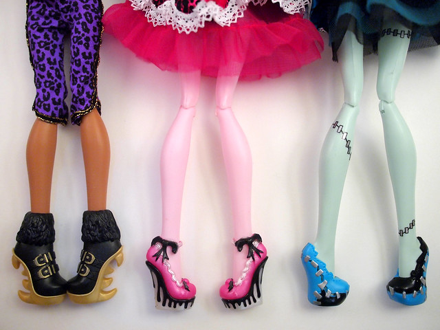 Monster High Sweet 1600: Shoes!