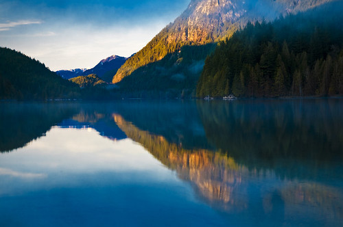 buntzen lake  by petetaylor