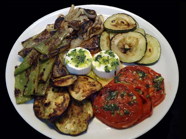 Mis recetas de cocina parrillada de verduras con queso for Parrillada verduras
