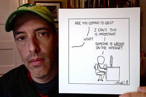 Someone is WRONG on the Internet. by stevegarfield