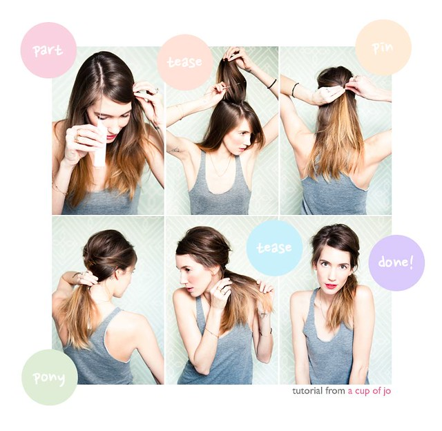 Messy Beehive with a pony tutorial