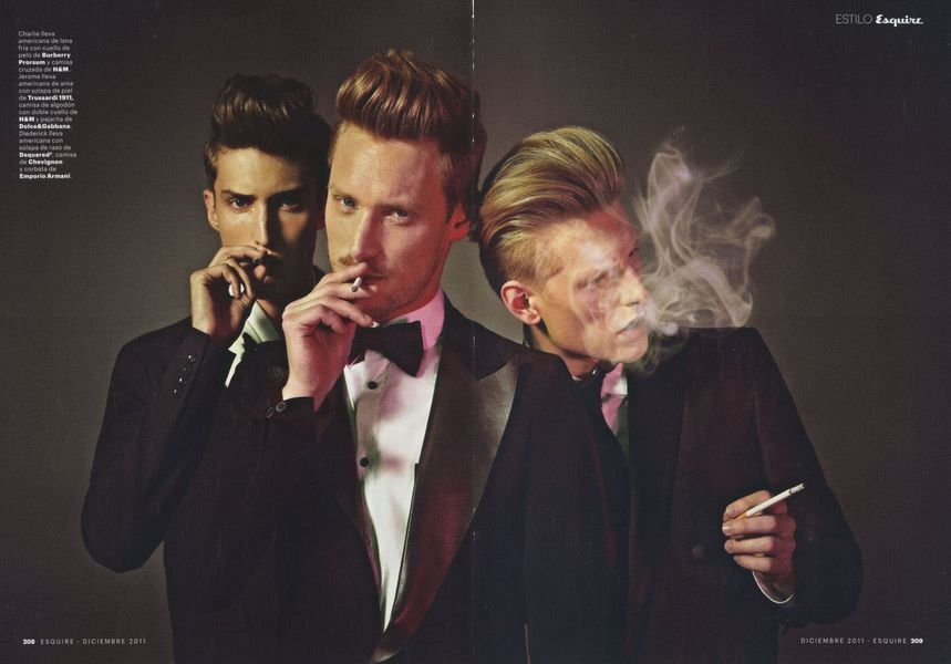 Esquire Spain December 2011_03Diederik Van Der Lee,Charlie France,Jerome Clark(sight Management)