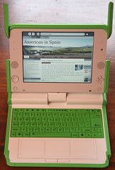 OLPC XO with Blog