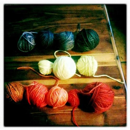 Kook aid yarn