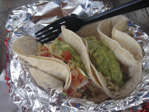 SoftTacos with Beef at Mad Mex