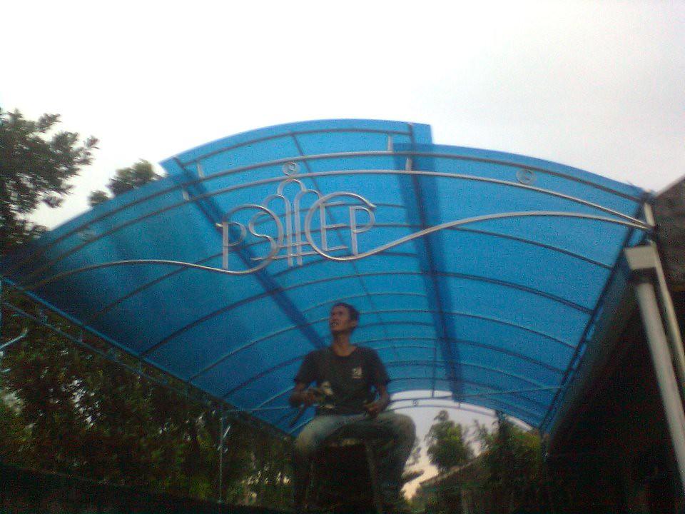 Canopy Polycarbonate Biru
