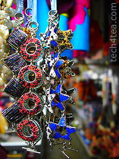 Trinkets at the Handicraft market. Taken with Olympus PEN E-P3.