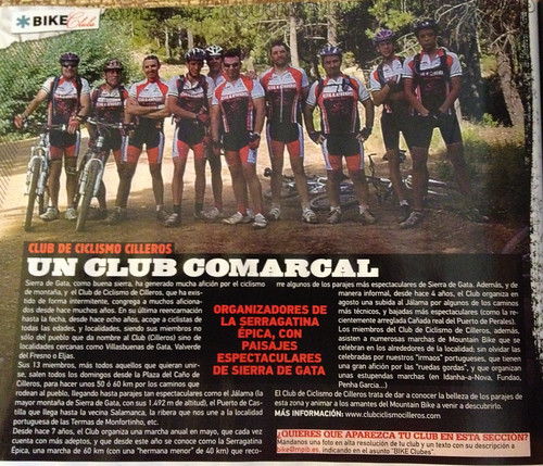 Bike Club del número 236 de la revista Bike!