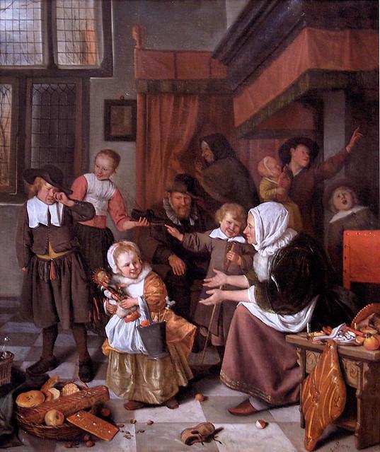 Jan_Steen_Het_Sint_Nicolaasfeest