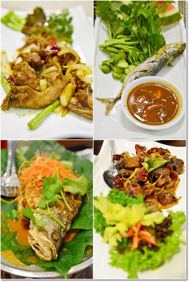 Various Malay Dishes