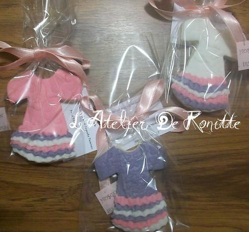 Kız Bebek Doğum Kurabiyeleri by l'atelier de ronitte