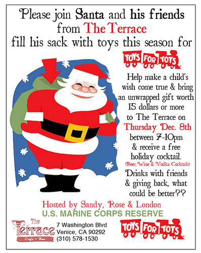 Toys for Tots at the Terrace