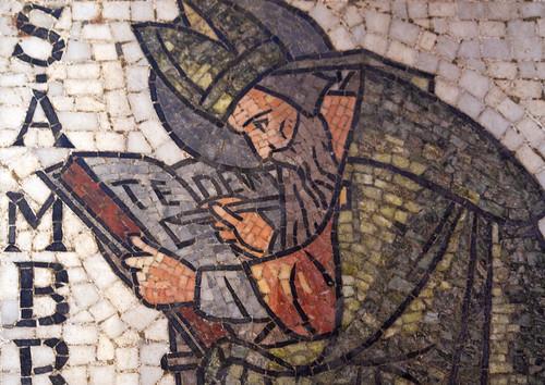 St Ambrose writing