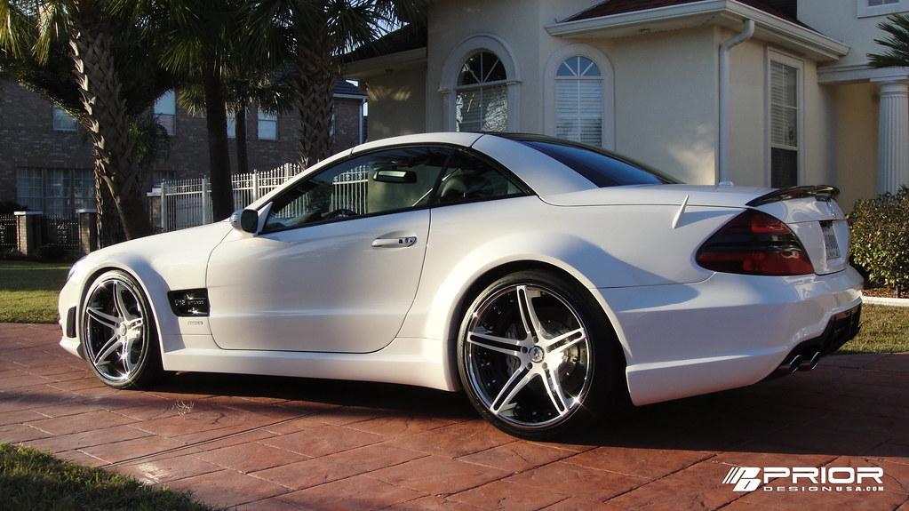 Prior Design - SL65 AMG - Widebody - Pearl White ...