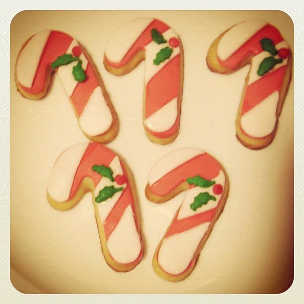 galletas navideñas fondant