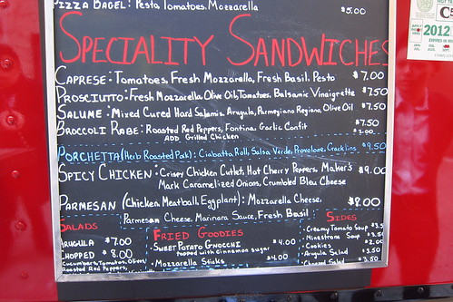 Eddie's New Sandwiches
