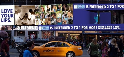 Your Face in Times Square!